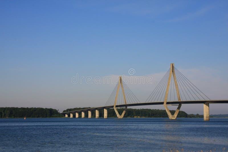 γέφυρα Δανία στοκ εικόνα με δικαίωμα ελεύθερης χρήσης
