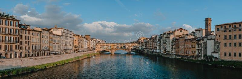 Γέφυρα διαβίωσης στη Φλωρεντία στοκ εικόνες με δικαίωμα ελεύθερης χρήσης
