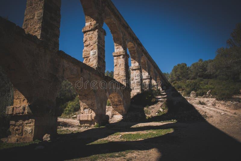 Γέφυρα διαβόλων ` s στην πόλη Tarragona στοκ εικόνες με δικαίωμα ελεύθερης χρήσης