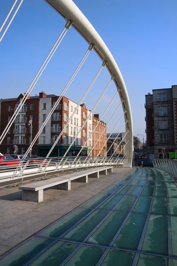 γέφυρα Δουβλίνο james Joyce στοκ φωτογραφίες με δικαίωμα ελεύθερης χρήσης