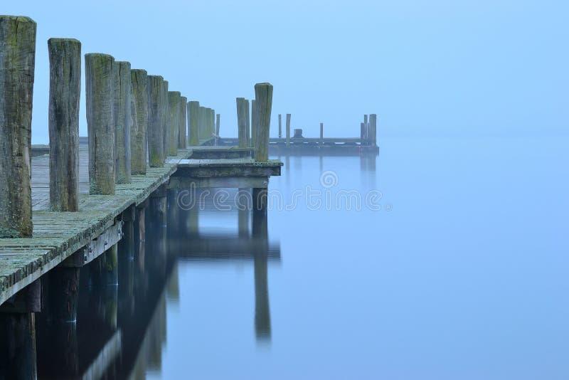 γέφυρα δρύινη Σουηδία wodd στοκ φωτογραφία με δικαίωμα ελεύθερης χρήσης