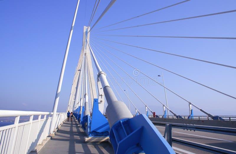 γέφυρα Ελλάδα Πελοπόννη&sigma στοκ φωτογραφία με δικαίωμα ελεύθερης χρήσης
