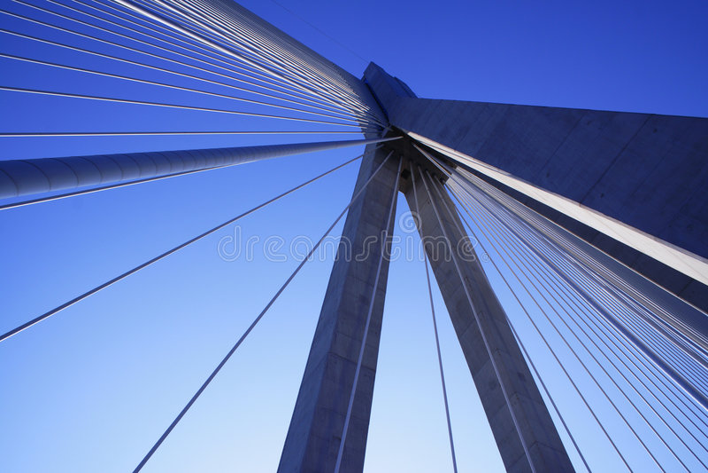 γέφυρα Ελλάδα Πελοπόννη&sigma στοκ εικόνες
