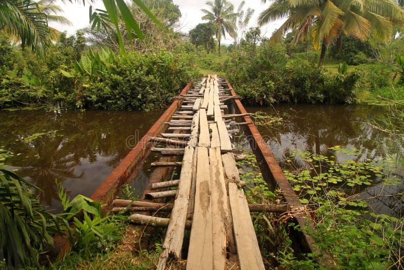 γέφυρα επικίνδυνη στοκ εικόνα