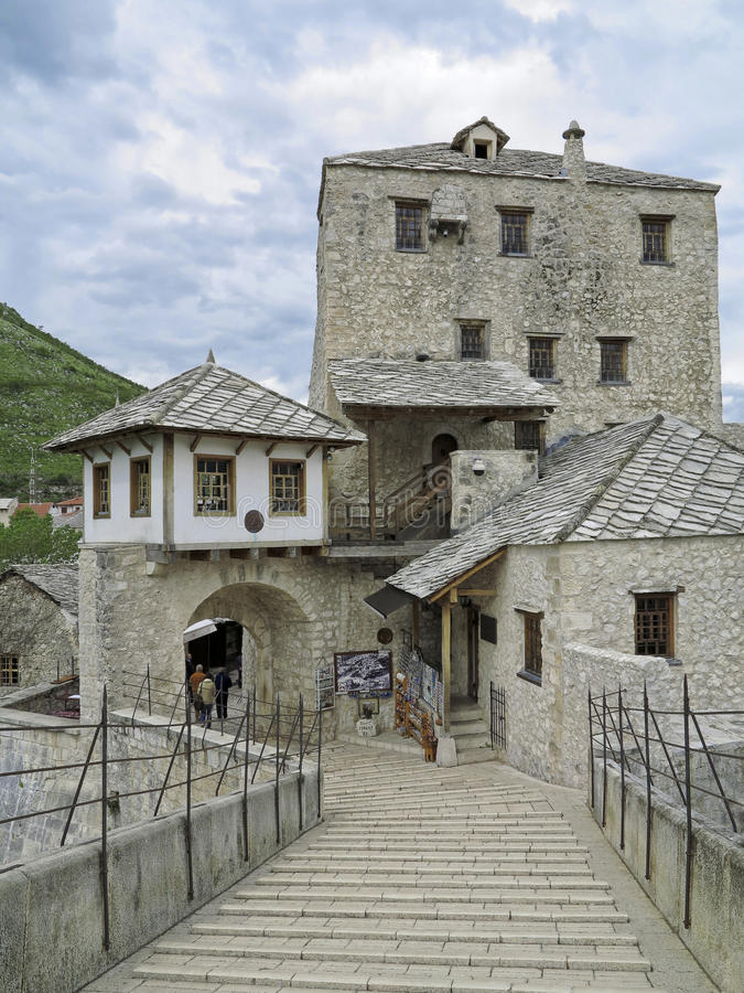 γέφυρα Ερζεγοβίνη της Βοσνίας mostar στοκ φωτογραφίες με δικαίωμα ελεύθερης χρήσης