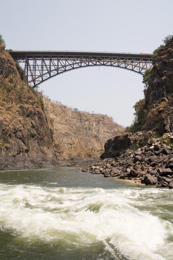 γέφυρα Ζαμβέζης στοκ εικόνα
