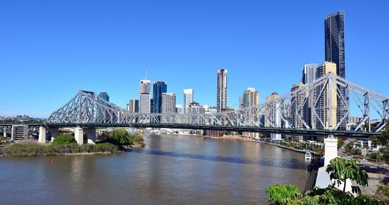 Γέφυρα ιστορίας - Μπρίσμπαν Queensland Αυστραλία στοκ φωτογραφία