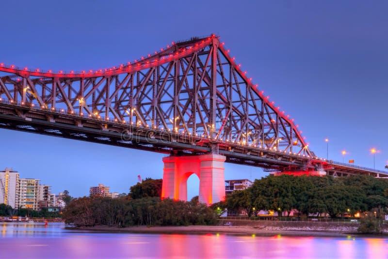 Γέφυρα ιστορίας στοκ εικόνα