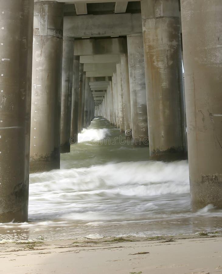 γέφυρα κάτω στοκ φωτογραφία με δικαίωμα ελεύθερης χρήσης