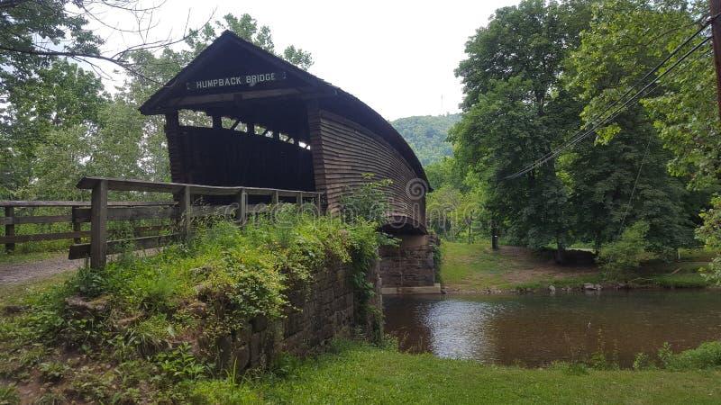 γέφυρα κάλυψης σε βόρειο, Βιρτζίνια στοκ φωτογραφία με δικαίωμα ελεύθερης χρήσης