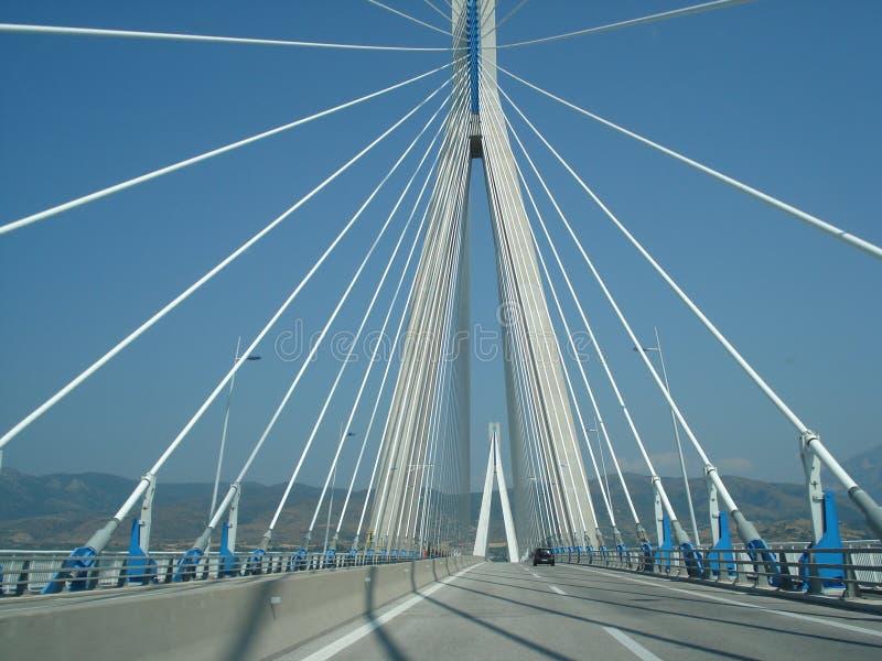 Γέφυρα καλωδίων στοκ φωτογραφία