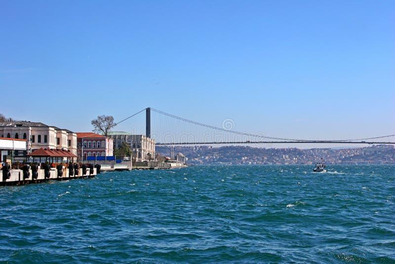 γέφυρα Κωνσταντινούπολη bo στοκ φωτογραφίες με δικαίωμα ελεύθερης χρήσης
