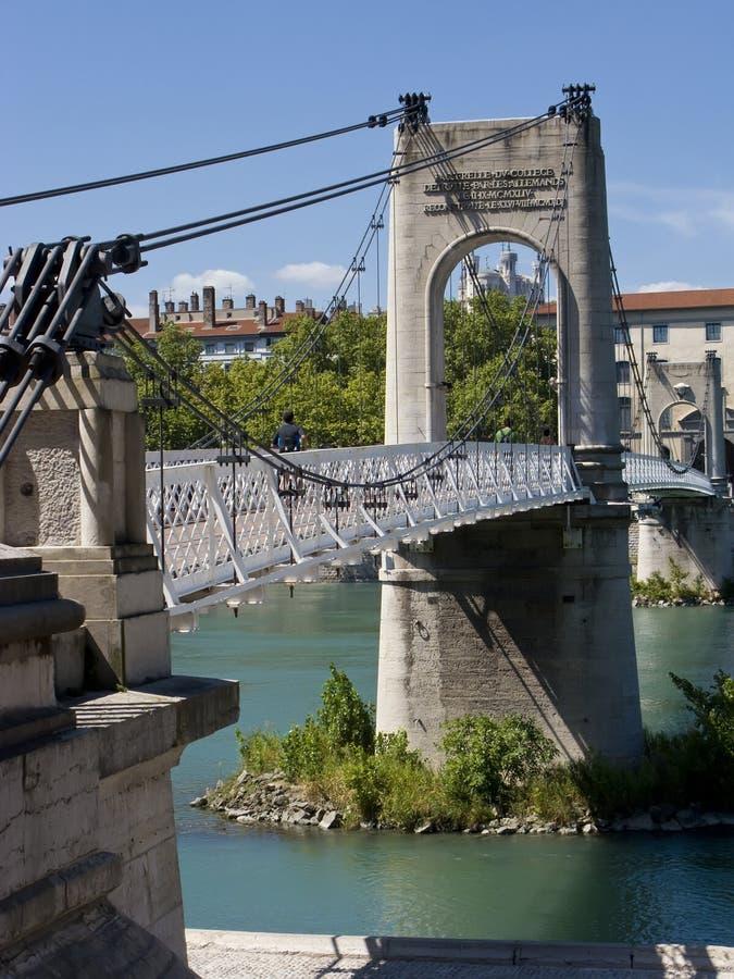 γέφυρα Λυών στοκ εικόνες