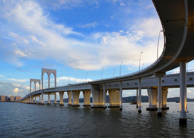 γέφυρα Μακάο στοκ εικόνες με δικαίωμα ελεύθερης χρήσης