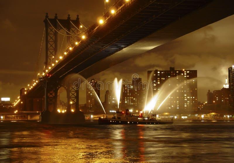 γέφυρα Μανχάτταν στοκ εικόνα με δικαίωμα ελεύθερης χρήσης