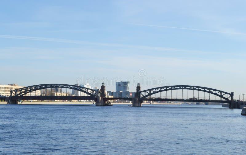 γέφυρα μεγάλος Peter Πετρούπ&omic στοκ φωτογραφία με δικαίωμα ελεύθερης χρήσης