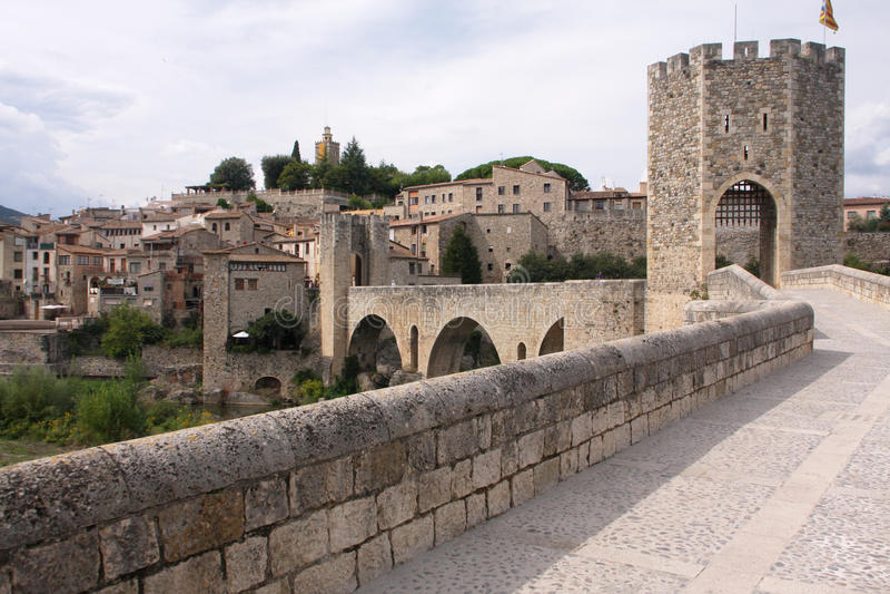 γέφυρα μεσαιωνική στοκ φωτογραφία