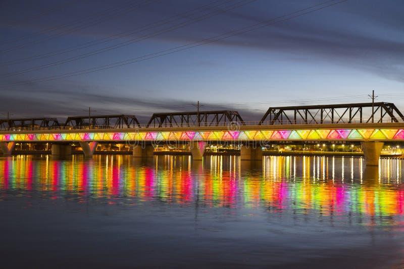 Γέφυρα μετρό στοκ εικόνες με δικαίωμα ελεύθερης χρήσης