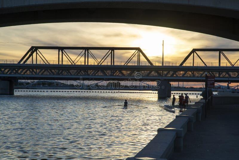 Γέφυρα μετρό στοκ φωτογραφίες με δικαίωμα ελεύθερης χρήσης