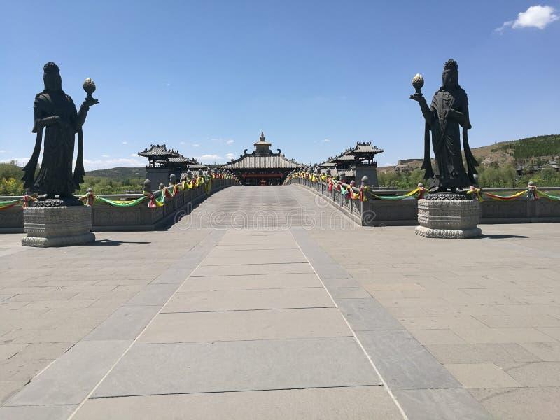 Γέφυρα ναών DA Tong στοκ φωτογραφία με δικαίωμα ελεύθερης χρήσης
