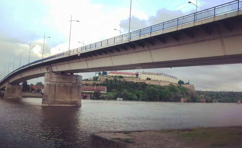 Γέφυρα | Νόβι Σαντ | Σερβία στοκ φωτογραφίες με δικαίωμα ελεύθερης χρήσης
