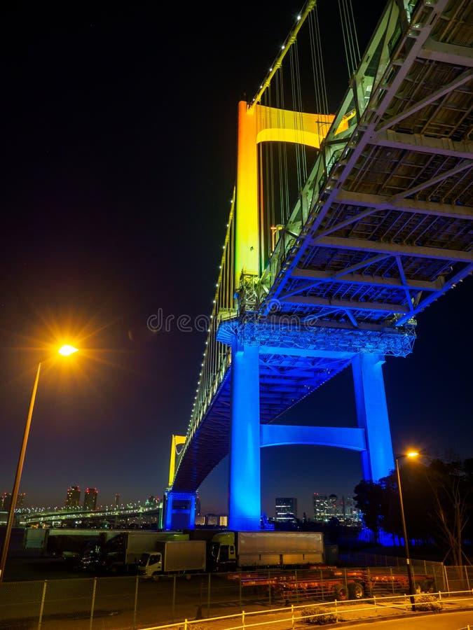 Γέφυρα ουράνιων τόξων σε Japan  στοκ φωτογραφία