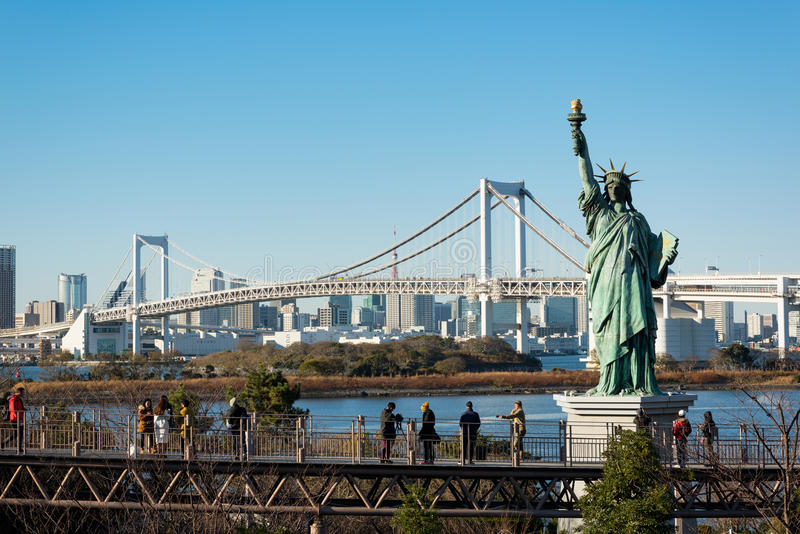 Γέφυρα ουράνιων τόξων, Τόκιο - Ιαπωνία στοκ εικόνες