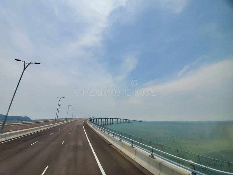 Γέφυρα ουρανού στο Μακάο στοκ εικόνες με δικαίωμα ελεύθερης χρήσης