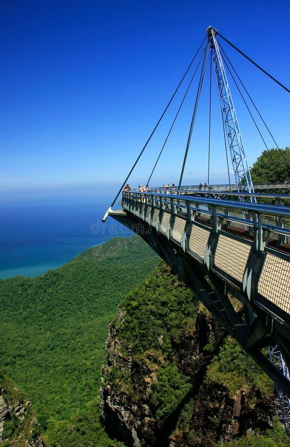 Γέφυρα ουρανού Langkawi, νησί Langkawi, Μαλαισία στοκ φωτογραφίες με δικαίωμα ελεύθερης χρήσης