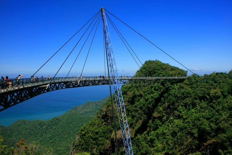 Γέφυρα ουρανού Langkawi, νησί Langkawi, Μαλαισία στοκ εικόνες με δικαίωμα ελεύθερης χρήσης