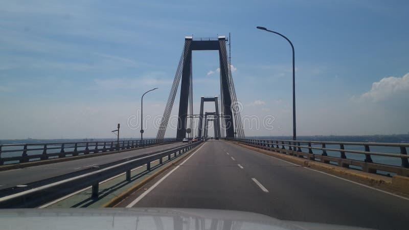 Γέφυρα πέρα από τη λίμνη του Μαρακαΐμπο στοκ φωτογραφία με δικαίωμα ελεύθερης χρήσης