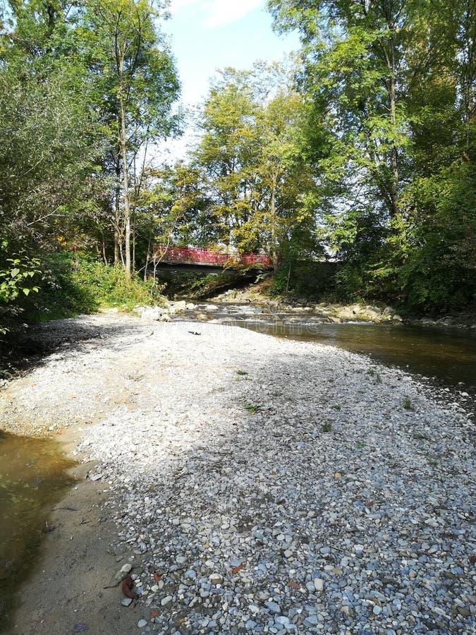 Γέφυρα ποταμών στοκ εικόνα