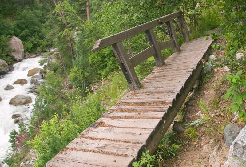 γέφυρα που σπάζουν στοκ φωτογραφίες