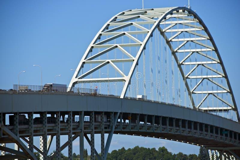 Γέφυρα Πόρτλαντ Fremont στοκ εικόνα με δικαίωμα ελεύθερης χρήσης