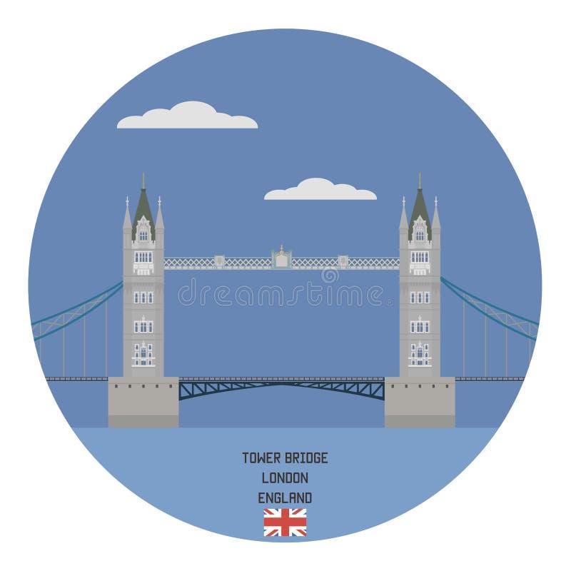 Γέφυρα πύργων, Λονδίνο ελεύθερη απεικόνιση δικαιώματος