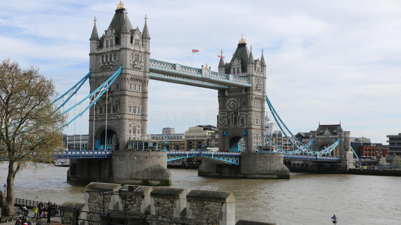 Γέφυρα πύργων, Λονδίνο στοκ εικόνα