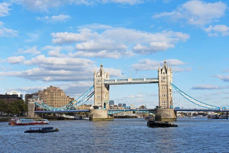 Γέφυρα πύργων στοκ εικόνα