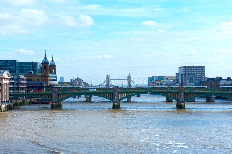 Γέφυρα πύργων στοκ εικόνες