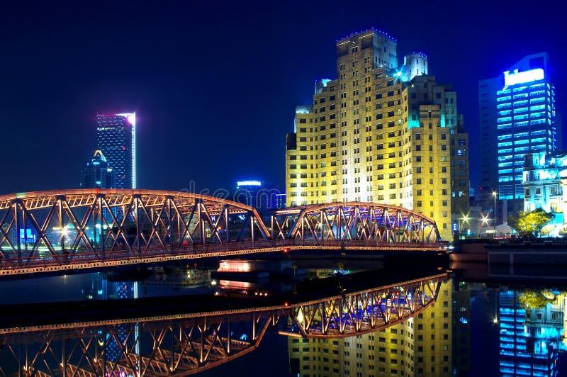 γέφυρα Σαγγάη στοκ φωτογραφία με δικαίωμα ελεύθερης χρήσης
