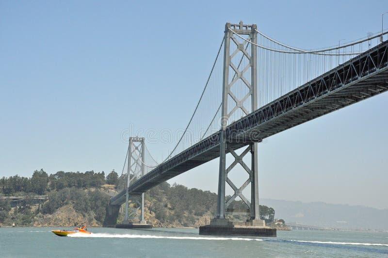 Γέφυρα Σαν Φρανσίσκο Καλιφόρνια κόλπων στοκ εικόνες