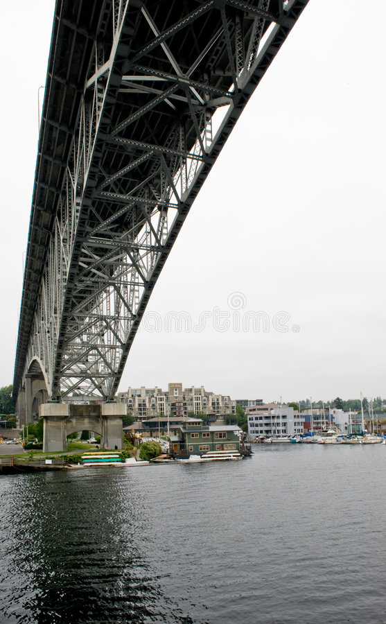 γέφυρα Σιάτλ στοκ φωτογραφία με δικαίωμα ελεύθερης χρήσης