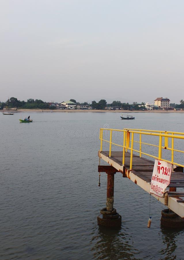 γέφυρα στη θάλασσα στοκ εικόνες με δικαίωμα ελεύθερης χρήσης