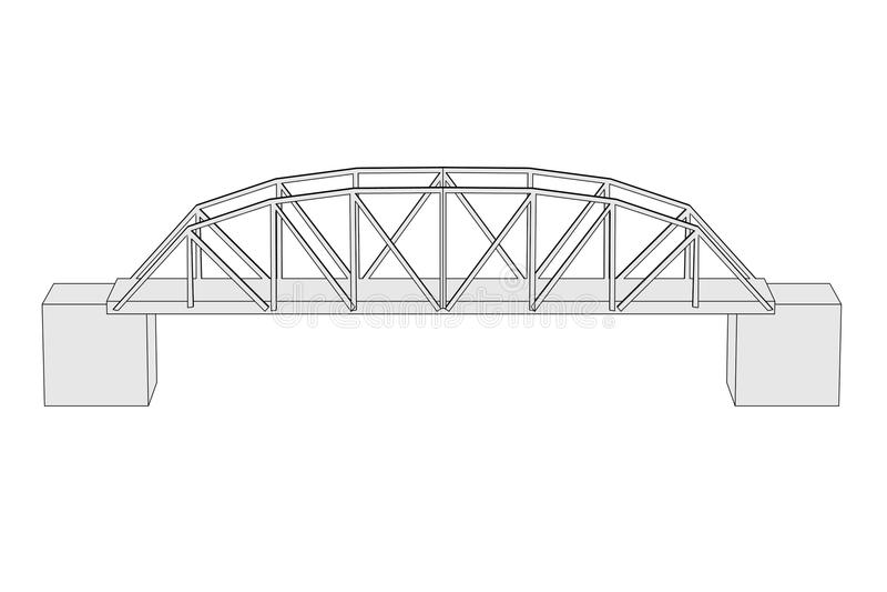 Γέφυρα (στοιχείο αρχιτεκτονικής) απεικόνιση αποθεμάτων