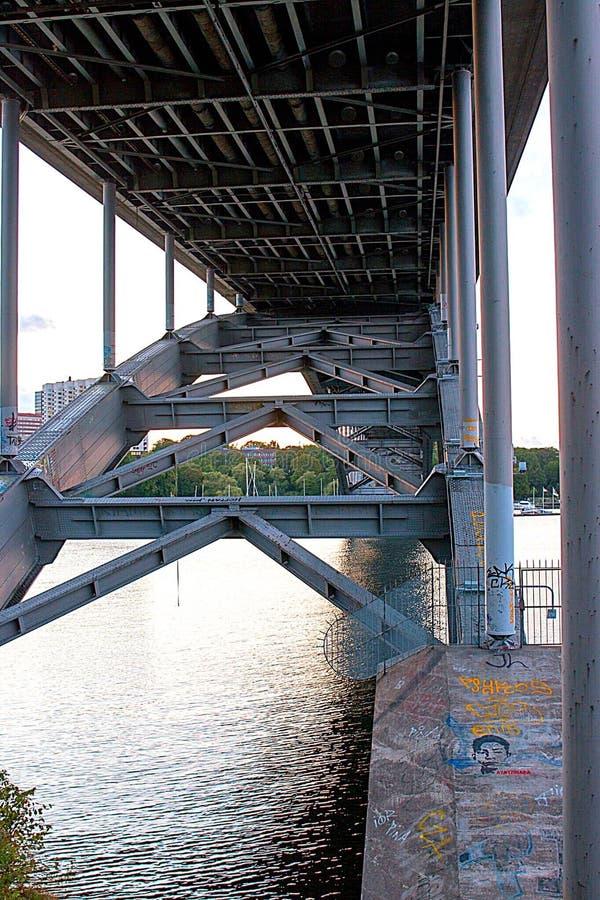 γέφυρα Στοκχόλμη στοκ φωτογραφίες με δικαίωμα ελεύθερης χρήσης
