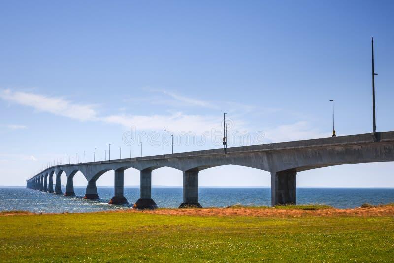 Γέφυρα συνομοσπονδίας, PEI Καναδάς στοκ φωτογραφία με δικαίωμα ελεύθερης χρήσης