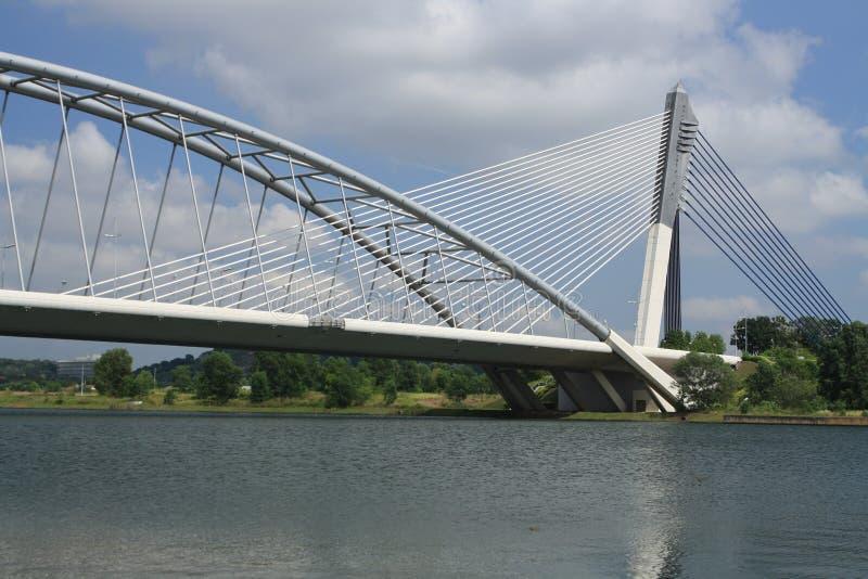 γέφυρα σύγχρονη στοκ φωτογραφία