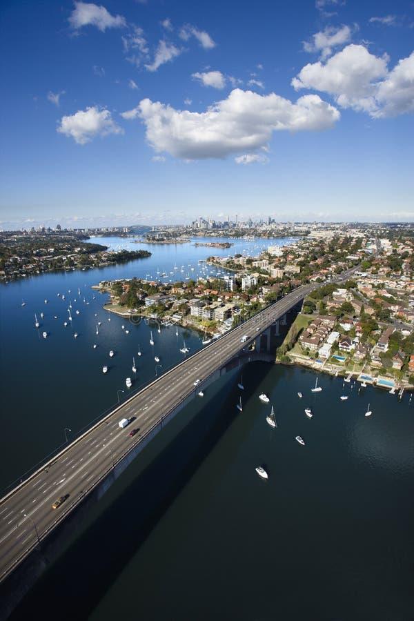 γέφυρα Σύδνεϋ της Αυστρα&lamb στοκ φωτογραφίες με δικαίωμα ελεύθερης χρήσης