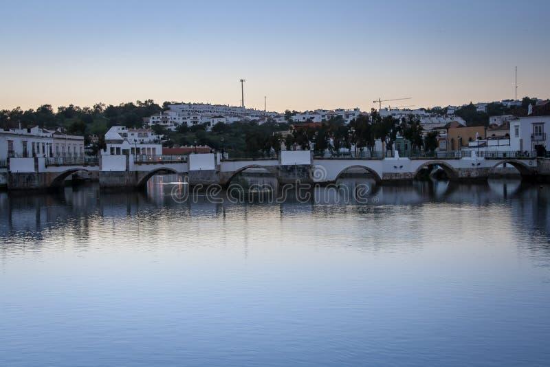 Γέφυρα Ταβίρα Πορτογαλία στοκ εικόνες με δικαίωμα ελεύθερης χρήσης