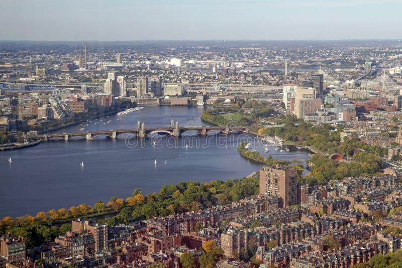 γέφυρα της Βοστώνης longfellow στοκ εικόνες