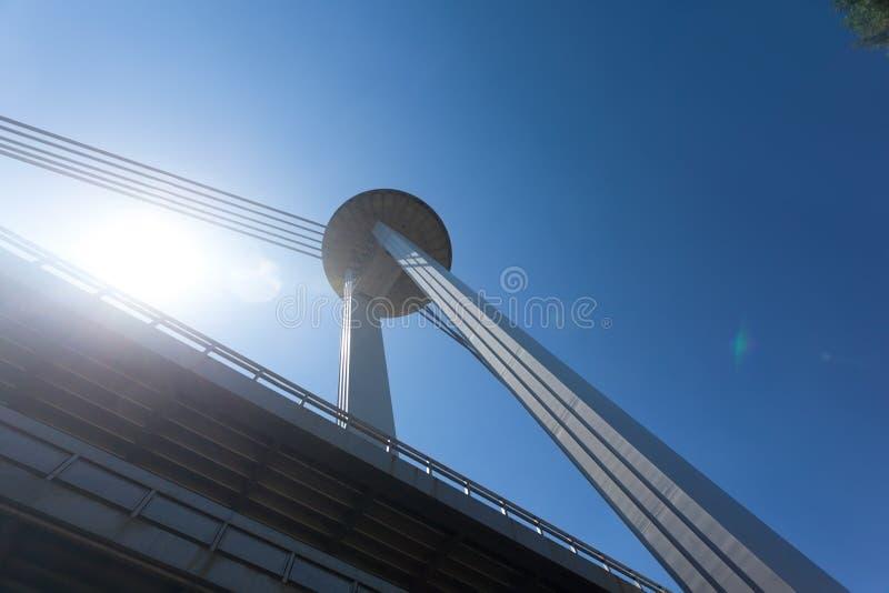 γέφυρα της Βρατισλάβα νέα στοκ εικόνες